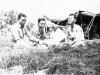 H. Yonashiro, S. Ishizuka, and K. Yamashita  at Camp McCoy, Wisconsin