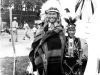 100th Battalion Soldier dressed up as a Wisconsin Dells Indian, Wisconsin