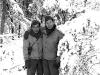 Soichi Hirua and Hiromi Yoshi at Camp McCoy, Wisconsin