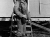 Gary Uchida at Camp McCoy, Wisconsin. [Courtesy of Janice Uchida Sakoda]