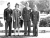 Ken, Karletta, Gary Uchida, & George, Washington D.C.. [Courtesy of Janice Uchida Sakoda]