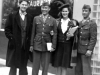Blake and Deena Clark. Gary Uchida and Kenneth Yoshima. Neptune Restaurant Washington DC. Blake is the author of 'Remember Pearl Harbor.' [Courtesy of Janice Uchida Sakoda]