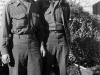 Lt. Y. Kobashigawa and friend pose for a picture [Courtesy of Ukichi Wozumi]