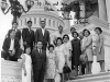 Uki Wozumi and friends pose at the capitol with Senator Daniel Inouye [Courtesy of Ukichi Wozumi]