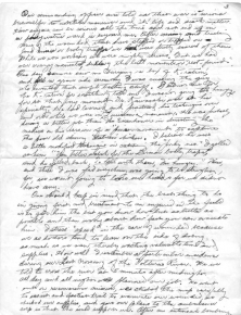 Dr. Richard Kainuma notes on treating the wounded under battlefield conditions, page 3