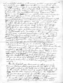 Dr. Richard Kainuma notes on treating the wounded under battlefield conditions, page 4