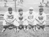 Former Moiliili Teammates - David Suzuki, Omiya, Ohta, Takeba [Courtesy of Sandy Tomai Erlandson]