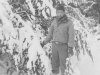 Takeshi Teshima with beautiful snow around at McCoy. [Courtesy of Ted Teshima]