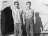 \Hikaru Awa & Kome at Camp McCoy Wis. July - 1942. [Courtesy of Carl Tonaki]