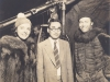 Toshiro Morishige in Hollywood, California on set with movie stars. [Courtesy of Morishige Family]