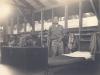Toshiro Morishige next to his bunk at Camp McCoy, Wisconsin. [Courtesy of Morishige Family]