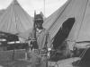Joe Nakahara in his work gear at Camp McCoy, Wisconsin, 1942. [Courtesy of Velma Nakahara]