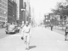 100th Battalion soldier visits Chicago while on furlough. [Courtesy of Velma Nakahara]