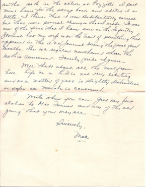 Capt. R J Mac McKelvy, 02/09/1945, page 2