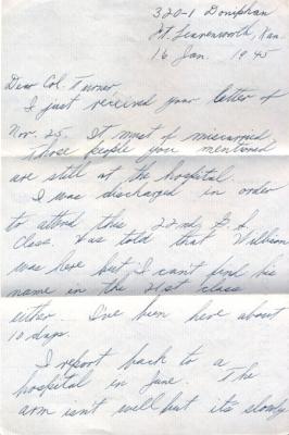 Capt Rocco G Marzano, 01/16/1945, page 1