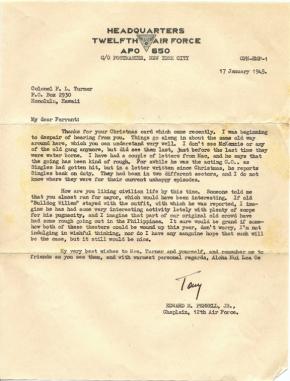 Edward M. Pennell, Jr., 01/17/1945
