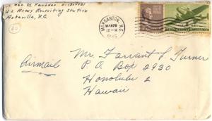 Geo (Bud) Faulder, March 28, 1945