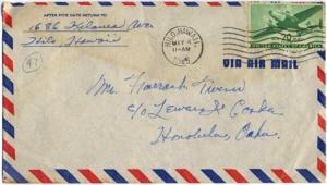 Walter Nakamoto, May 3, 1945