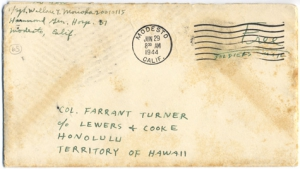 T/Sgt Wallace T Morioka, June 28, 1944