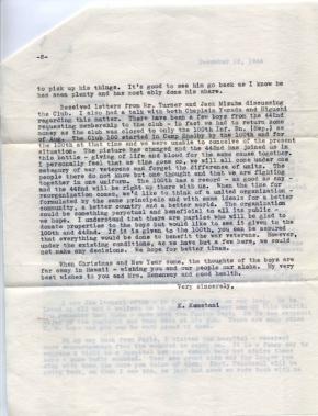 K Kometani, 12/12/1944, page 2