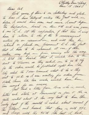 Maj Jim W Lovell, 12/18/1944, page 1