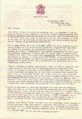 Philip B Peck, 12/19/1944, page 1
