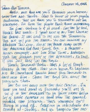 Tad Ohta, 08/14/1944, page 1