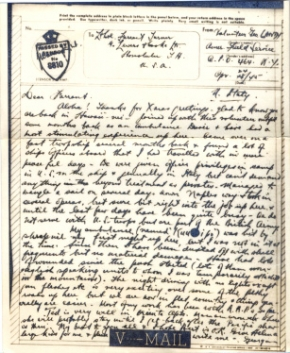 George Landy, 04/24/1945