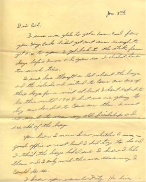 Wm S Pye, 01/08/1946, page 1