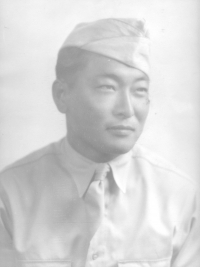 Isaac Akinaka, 1940s. [Courtesy of Ken Akinaka]