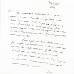 Izumigawa Letters May 9 1945